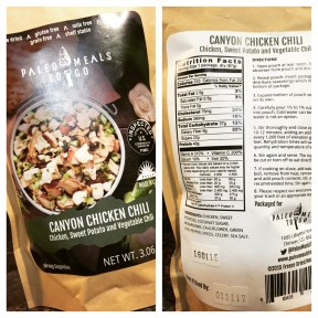 Canyon Chicken Chili Package