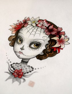 'Dia de Los Muertos' by Mab Graves. Photograph is from the artist's flickr page: https://www.flickr.com/photos/mabgraves/7547527918/