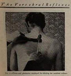 Reboutement viscéral : colonne vertebrale