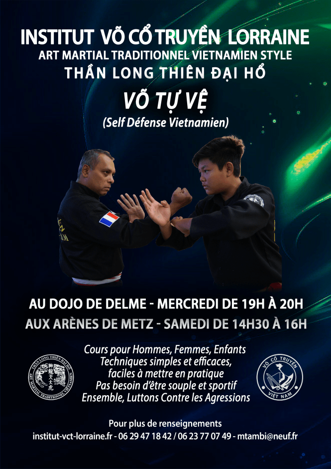 Affiche Self Defense v3