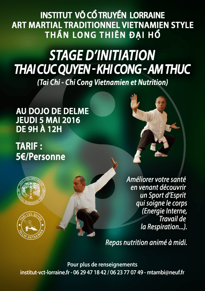 Affiche Stage TCQ