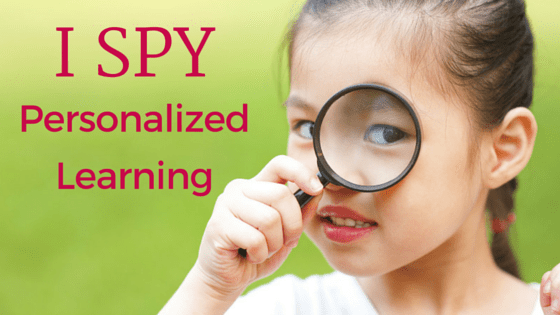 Guest Post: I SPY Personalized Learning