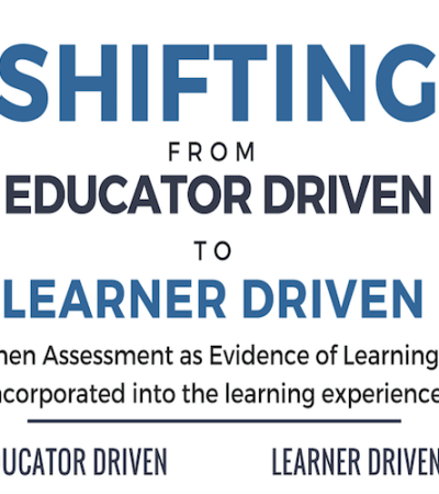 Assessment as Evidence of Learning – INFOGRAPHIC
