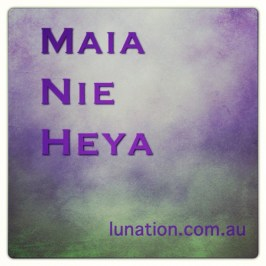 Gratitude | Maia Nie Heya | I give thanks | Lunation