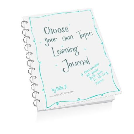 Choose Your Own Learning Topic Journal