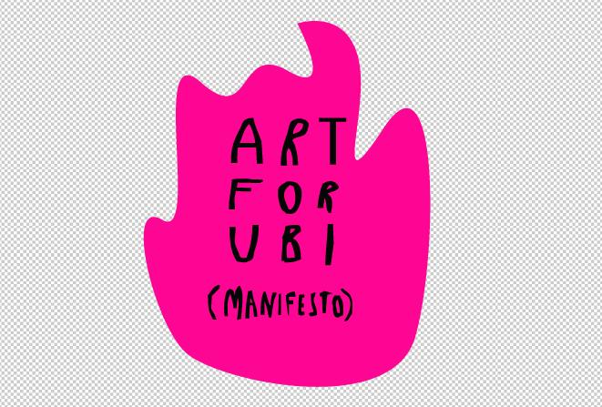 #ARTforUBI