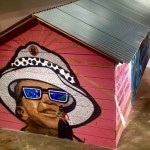 Photo Curtesy of EDELO, Zapantera Negra. The installation was at Fresno State University H street graduate gallery.