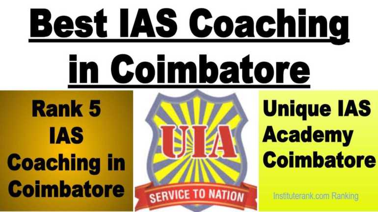 Best UPSC Coaching in Coimbatore