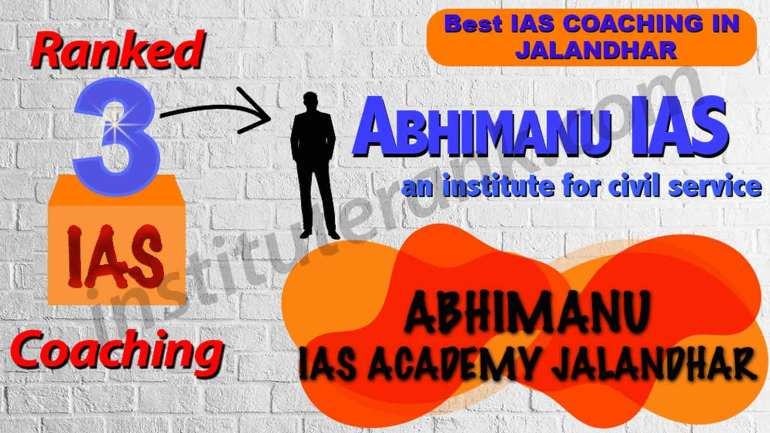 Best IAS Coaching in Jalandhar