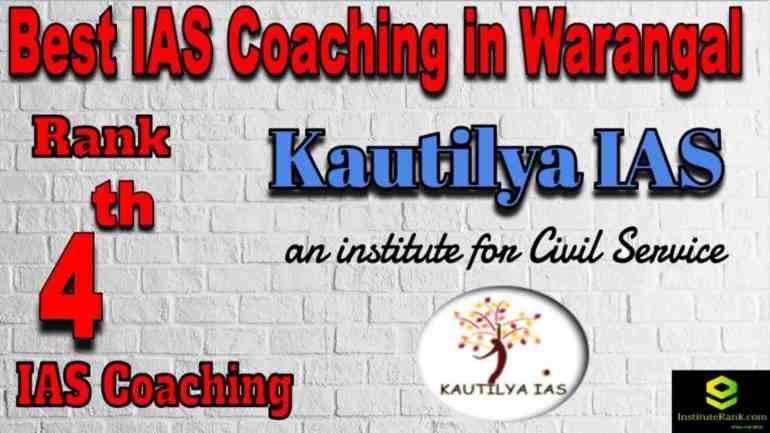 4th Best IAS Coaching in Warangal