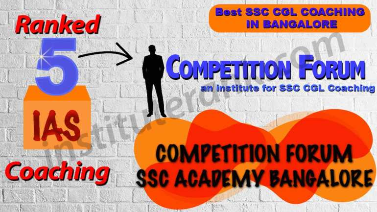 Best SSC CGL Coaching in Bangalore