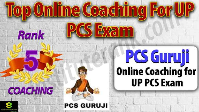 Best Online Coaching for UP PCS Exam Preparation