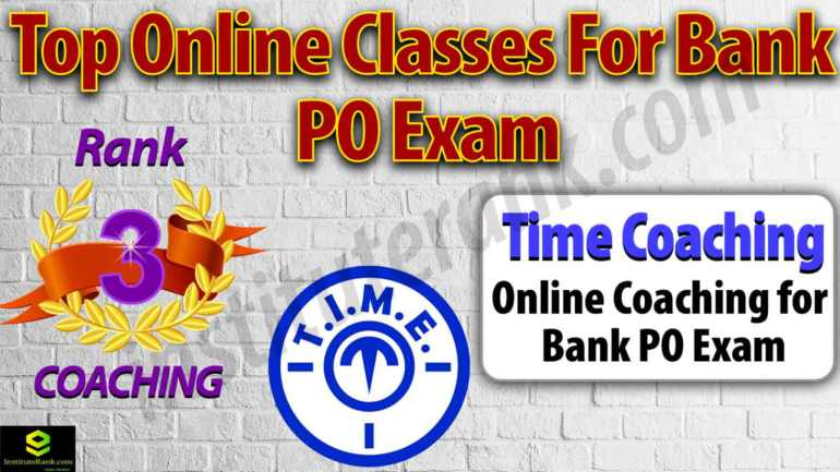 Top Online Classes for Bank PO Exam Preparation