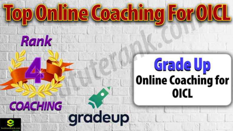 Best Online Coaching Centre for OICL Examination