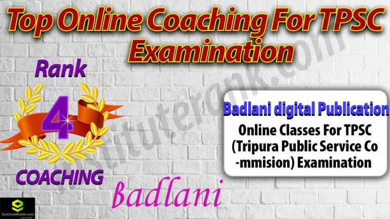Best Online Coaching Centre for TPSC Examination