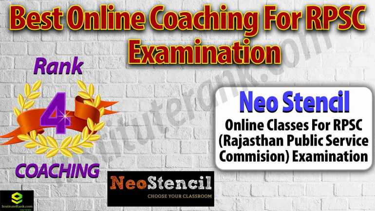 Best Online Coaching Preparation for RPSC Examination