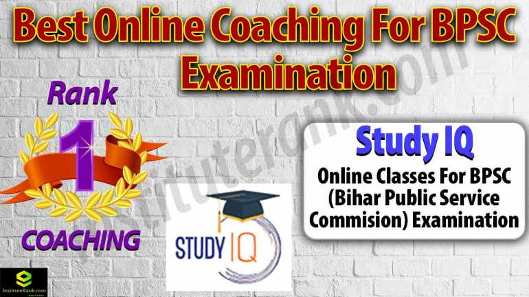 Best Online Coaching for BPSC Examination