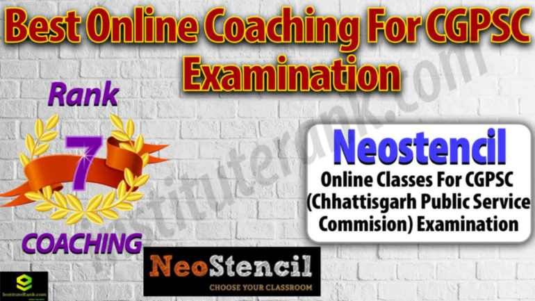 Online Coaching Centre for CGPSC Examination