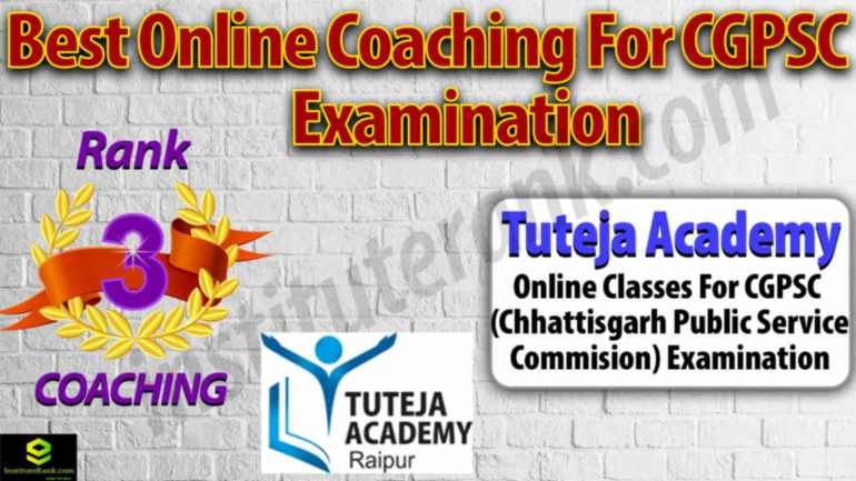Top Online Coaching Centre for CGPSC Examination