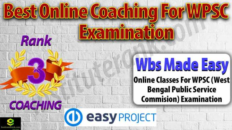 Top Online Coaching Centre for WBPSC Examination