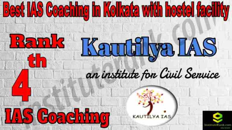 4th Best IAS Coaching in Kolkata with hostel facility