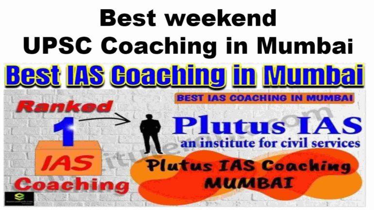 Rank 1 Best Weekend IAS Coaching in Mumbai