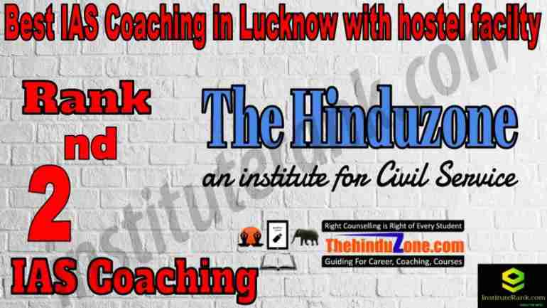 2nd Best IAS Coaching in Lucknow With Hostel facility