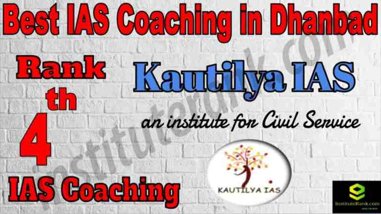 4th Best IAS Coaching in Dhanbad