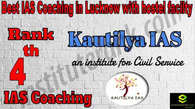 4th Best IAS Coaching in Lucknow With Hostel facility