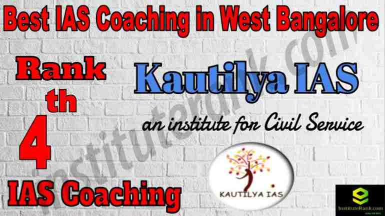 4th Best IAS Coaching in West Bangalore