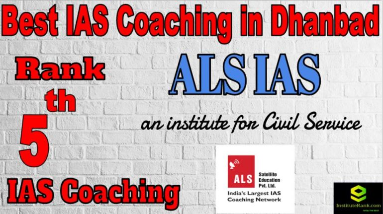 5th Best IAS Coaching in Dhanbad