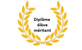 DIPLOMES ELEVES MERITANTS
