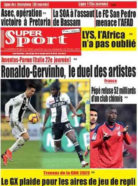 le duel des artistes gervinho ronaldo