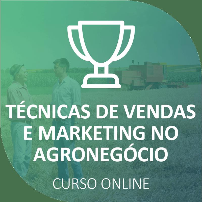 Curso de Técnicas de Vendas e Marketing no Agronegócio