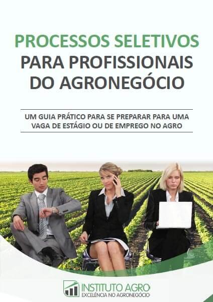 E-book Processos Seletivos para Profissionais do Agronegócio