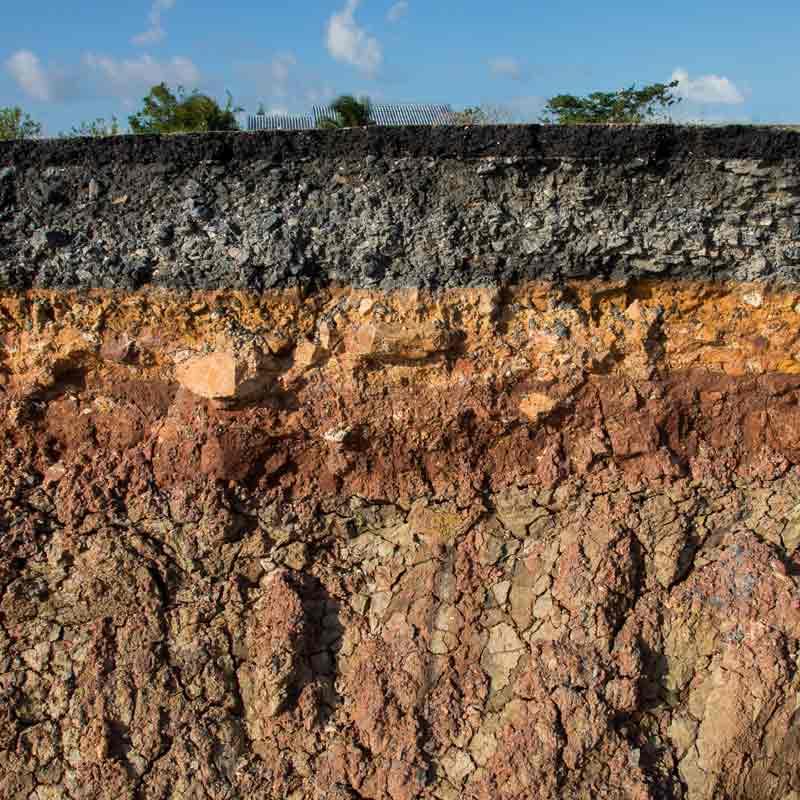 Construção de um perfil de solo para altas produtividades