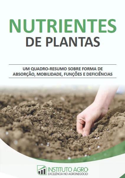 Quandro Resumo dos Macro e Micronutrientes de Plantas