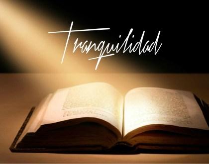 Versículos bíblicos sobre tranquilidad
