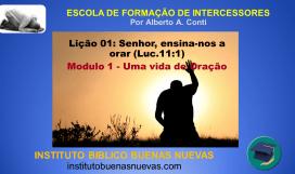escola online de oração