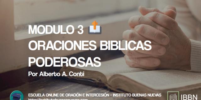 MODULO 3 ORACIONES BIBLICAS PODEROSAS