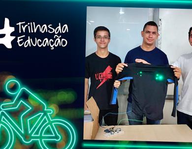 Alunos do IFRO criam protótipo de roupa para segurança de ciclistas