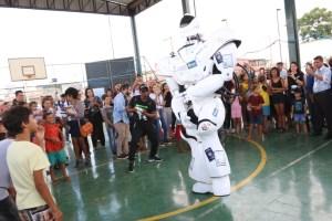 CEU das Artes da Ceilândia Norte recebe laboratório de robótica