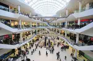 Centros Comerciales, interiores comunes accesibles