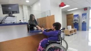 Módulo de atención preferencial para personas con discapacidad
