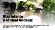 blas infante y el ideal andaluz. Cartel.