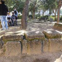 Reinauguración del Jardín arqueológico del I.E.S.  Jorge Juán de San Fernando. Cádiz.
