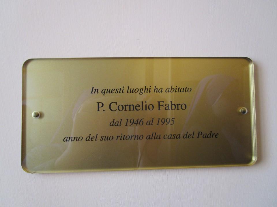 Museo Standze del P. Fabro