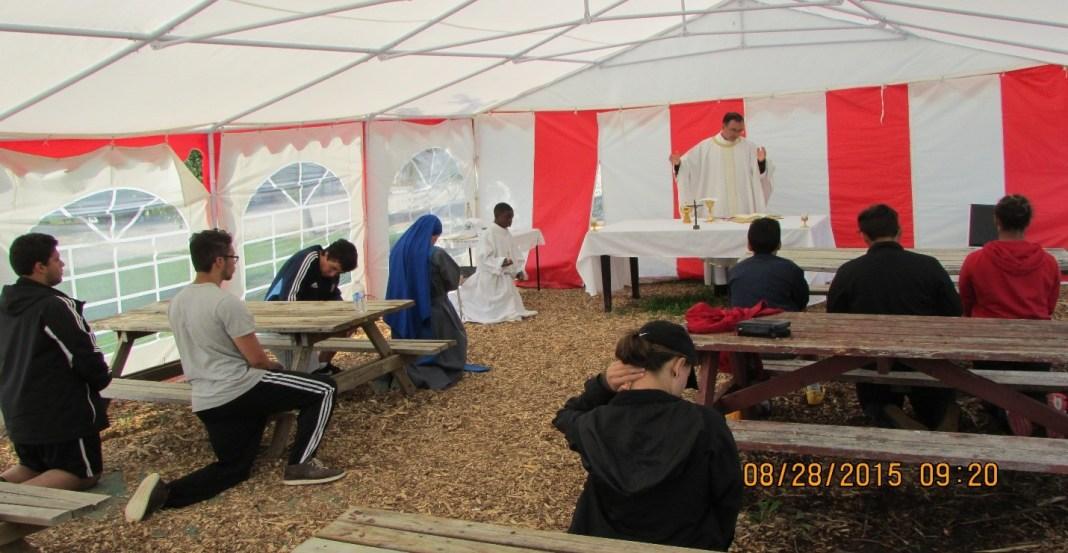 Instiute of the Incarnate Word. Campamento de Jovenes en Toronto. IVE