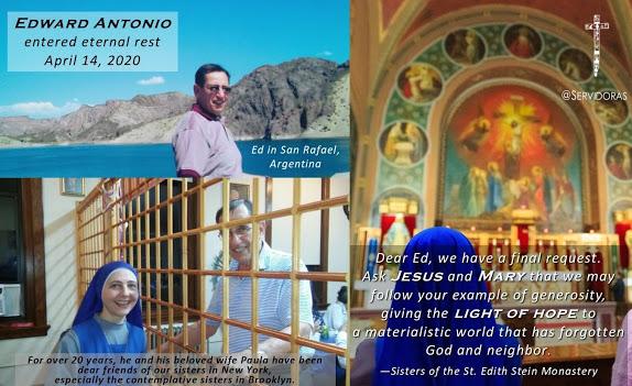 Ed y Paula - La Familia Antonio y nuestro monasterio