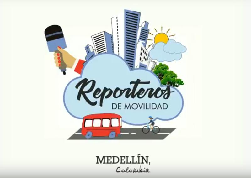 reporteros de movilidad medellin colombia